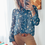 The Calgary Floral Blouse