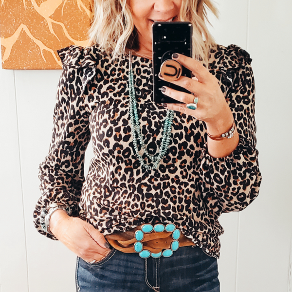 The Shannon Leopard Top