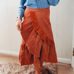 The Randlett Corduroy Skirt