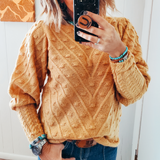 The Marigold Dot Sweater