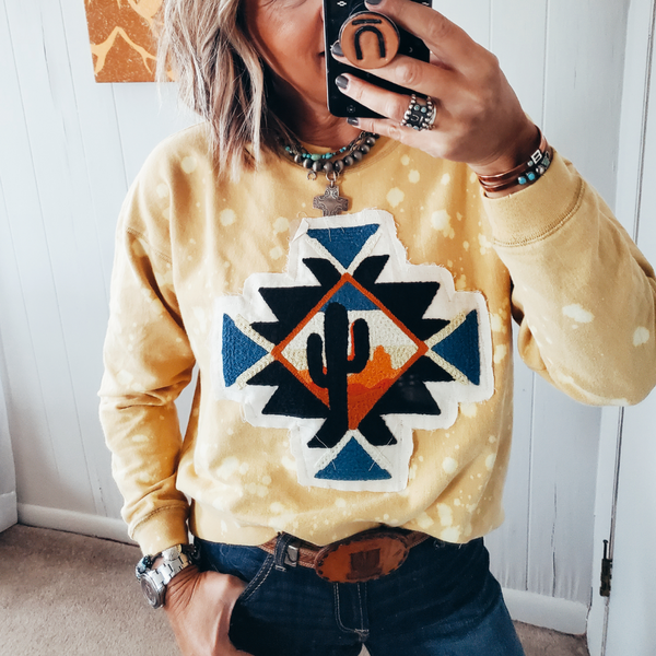 The Saltillo Sunset Sweatshirt