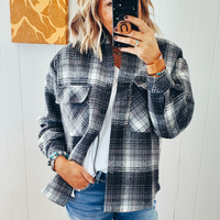 The Branson Plaid Shirt Jacket