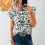 The Lizzie Dalmation Top