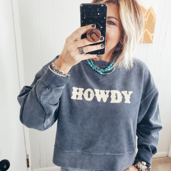 Howdy Cord Sweater