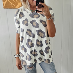 Easy Leopard Tunic Top