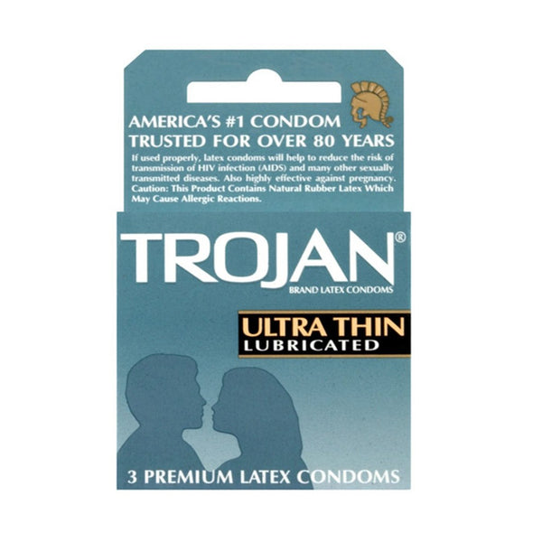 Ultra Thin Lubricated Condoms - Vibrant