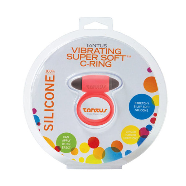 Vibrating Super Soft C-Ring - Vibrant