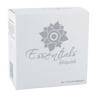 Essentials Lube Cube Sampler 12 Pack by Sliquid