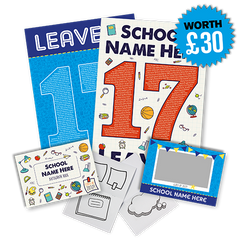 The first 20 people to register each day will receive a leavers bundle for their class worth £30!