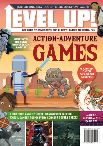 Action-Adventure Games (Paperback)