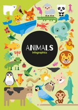 Load image into Gallery viewer, Animals Childrens book 9781912171347