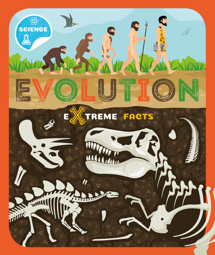 Evolution (Paperback) Childrens book 9781912502356