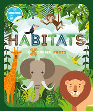 Load image into Gallery viewer, Habitats (Paperback) Childrens book 9781912502363