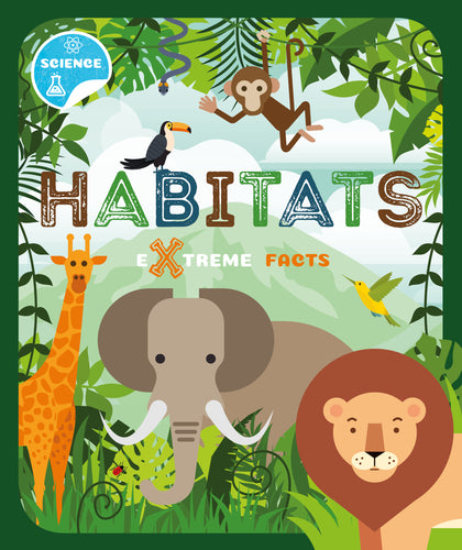 Habitats (Paperback) Childrens book 9781912502363