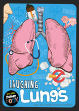 Load image into Gallery viewer, Laughing Lungs Childrens book 9781912502325
