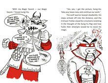 Load image into Gallery viewer, Kung-Fu Pigs: The Magic Sword of Gung-Ho (Book 2)