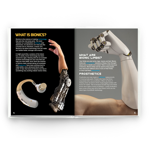 Bionic Limbs Childrens book