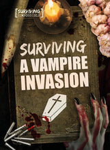Load image into Gallery viewer, Surviving a Vampire Invasion Childrens book 9781912502233