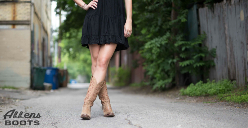 The Perfect Distressed Cowgirl Boot