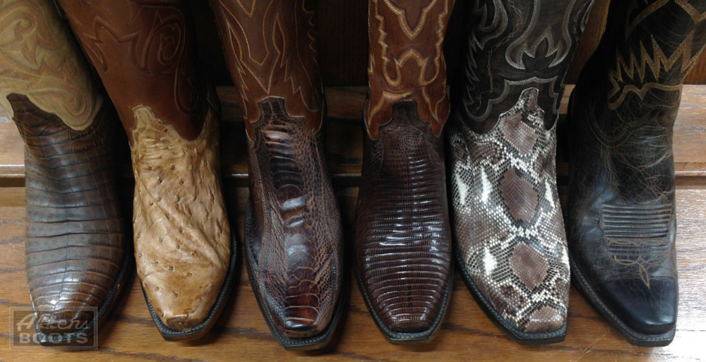 outlet store nice cheap another chance 6 Common Cowboy Boot Leathers: The Pros & Cons You Need To ...