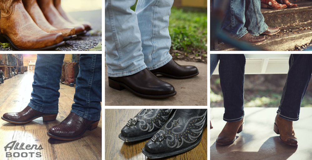 2bcaed05 Checklist: 5 Cowboy Boot Styles for Men – Allens Boots