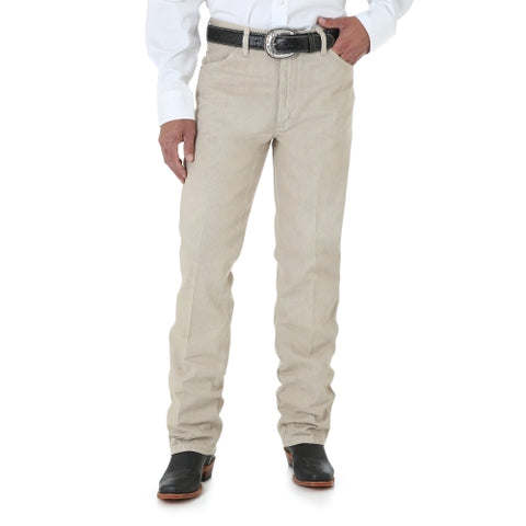 Men's Wrangler Cowboy Cut Slim Fit Prewashed Tan #0936TAN