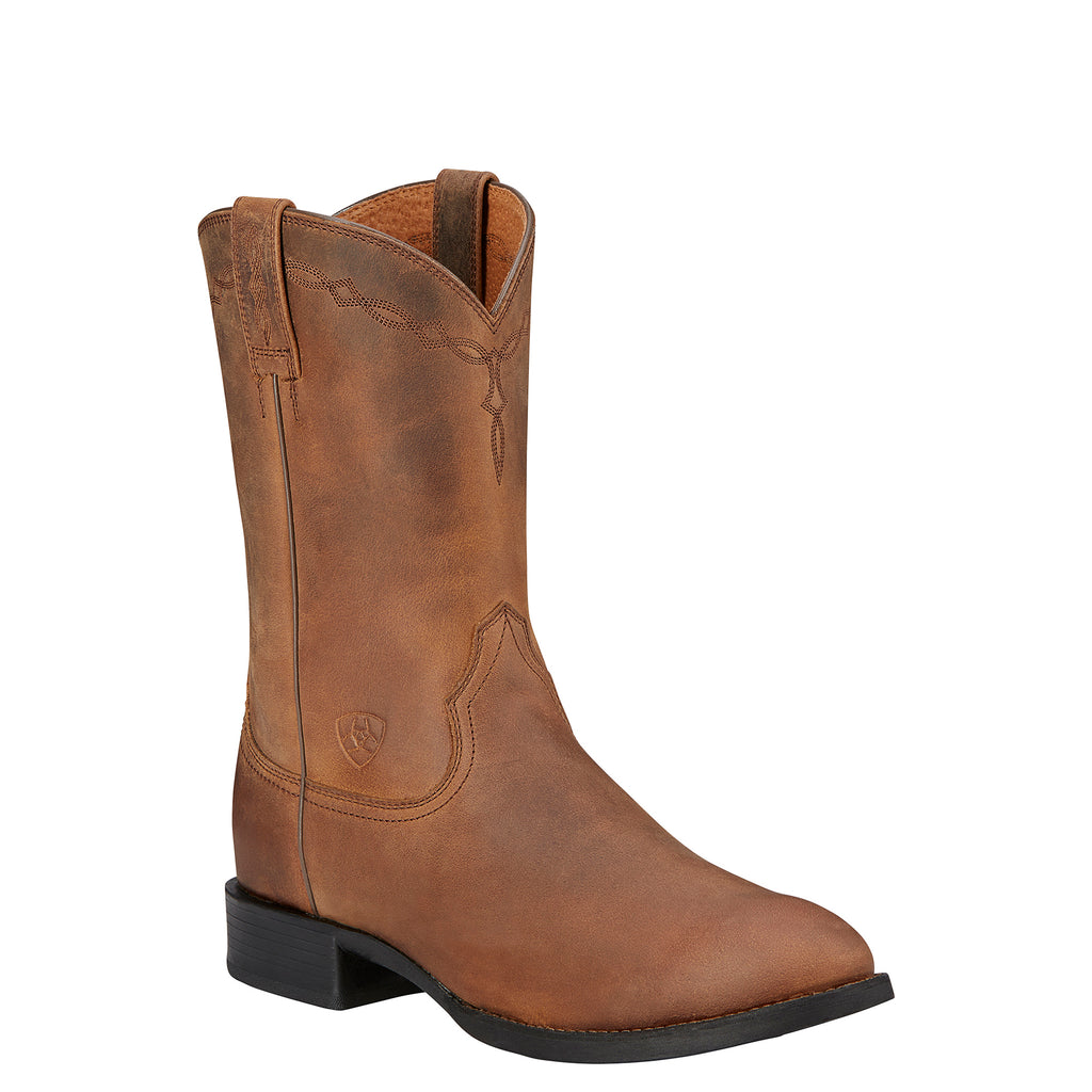 Men's Ariat Roper Distressed Brown #10002284 view 1