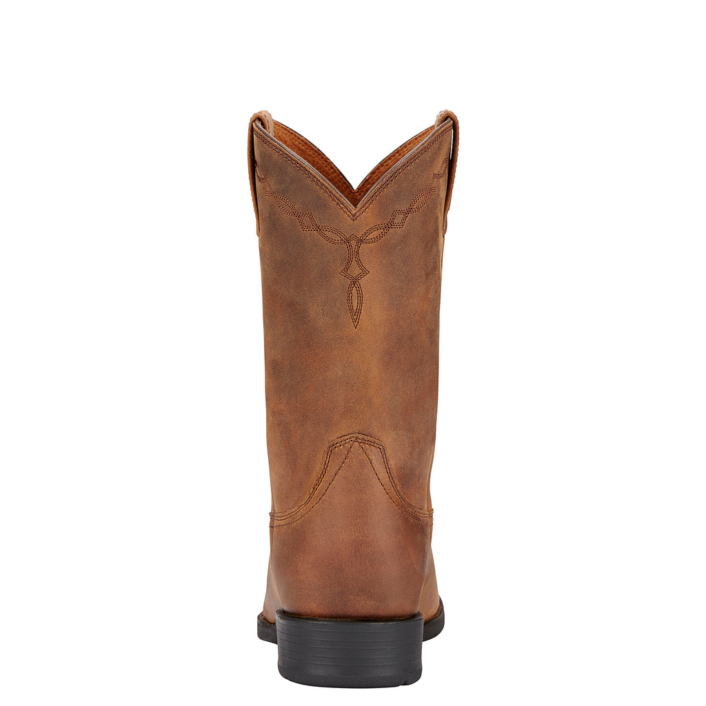 Men's Ariat Roper Distressed Brown #10002284 view 4