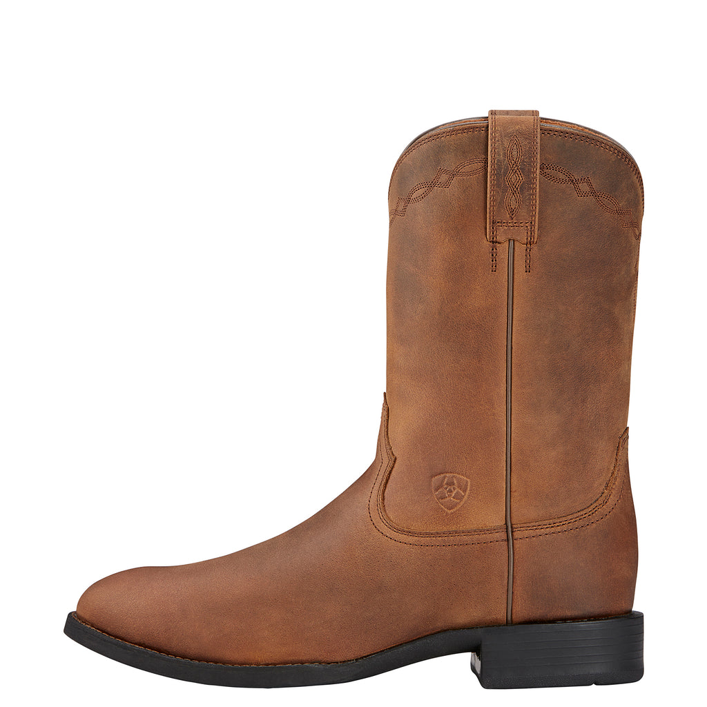 Men's Ariat Roper Distressed Brown #10002284 view 5