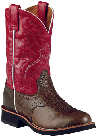 Kid's Ariat Heritage Boots Washed Brown #10008722
