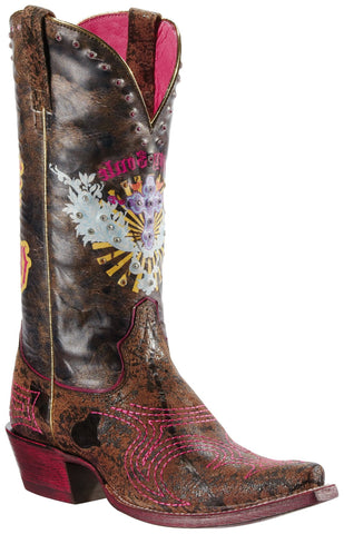 Women's Ariat Boots Pink & Sassy Soul #10009511