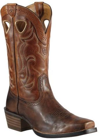 Men's Ariat Rawhide Boots Chestnut #10010953