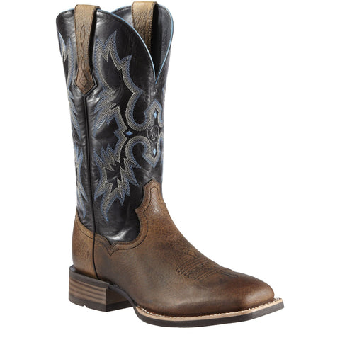 Men's Ariat Tombstone Boots Earth and Black #10011785