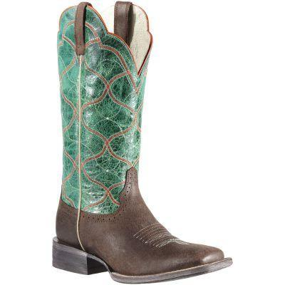 Women's Ariat Big City Boots Seal Brown #10011879