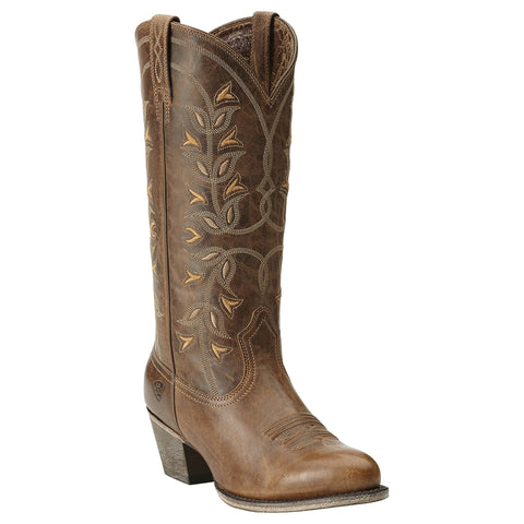 Women's Ariat Desert Holly Pearl Brown Boots #10014100
