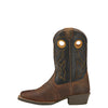 Kid's Ariat Roughstock Boots Distressed Brown #10016239