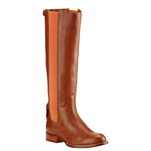 Women's Ariat Boots Waverly Biscotti/Pumpkin Spice #10018451