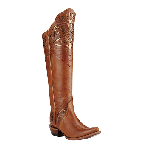 Women's Ariat Boots Chaparral Brilliant Buff/Rose #10018594