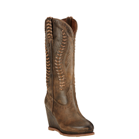 Women's Ariat Boots Nashville Dark Chocolate #10018612