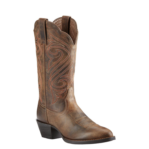Women's Ariat Boots Round Up R Toe Dark Toffee #10018619