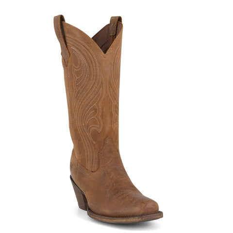 Women's Ariat Lively Old West Brown Boots #10019864