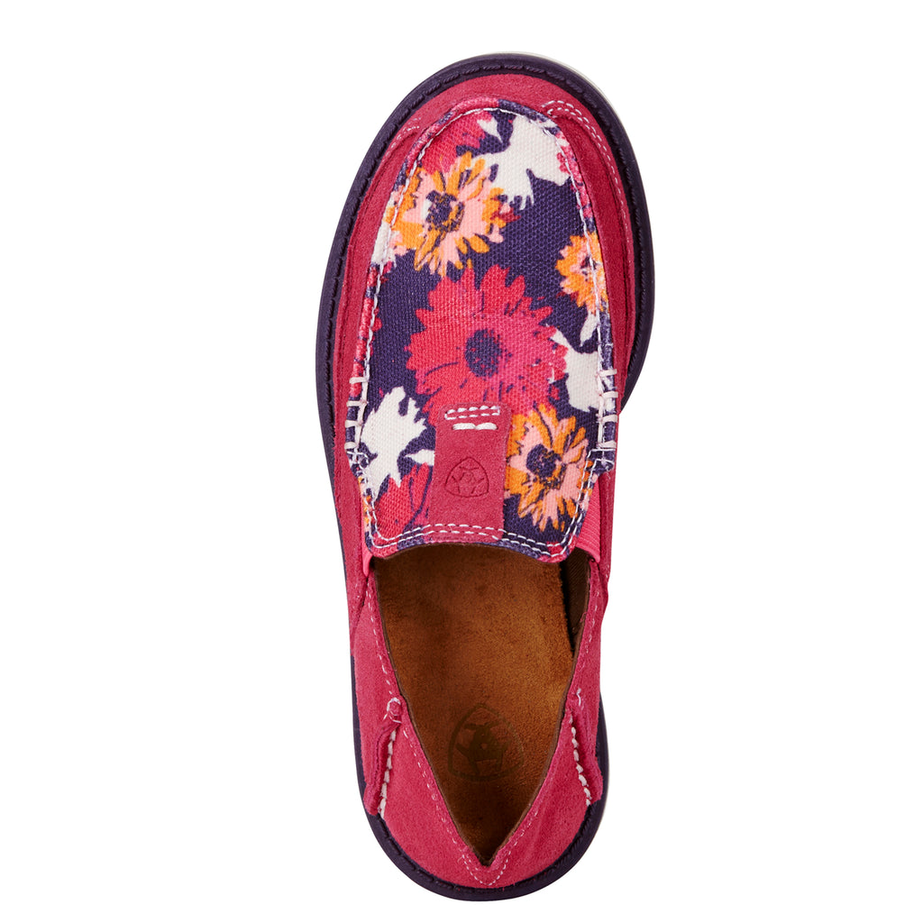 Kid's Ariat Cruiser Blush/Flower Pink #10019954 view 3