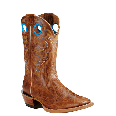 Men's Ariat Boots Crossfire Bite the Dust Brown #10019960