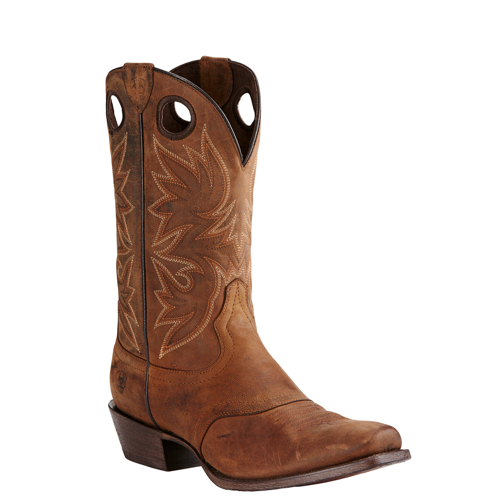 Men's Ariat Boots Circuit Striker Weathered Brown #10019974 view 1