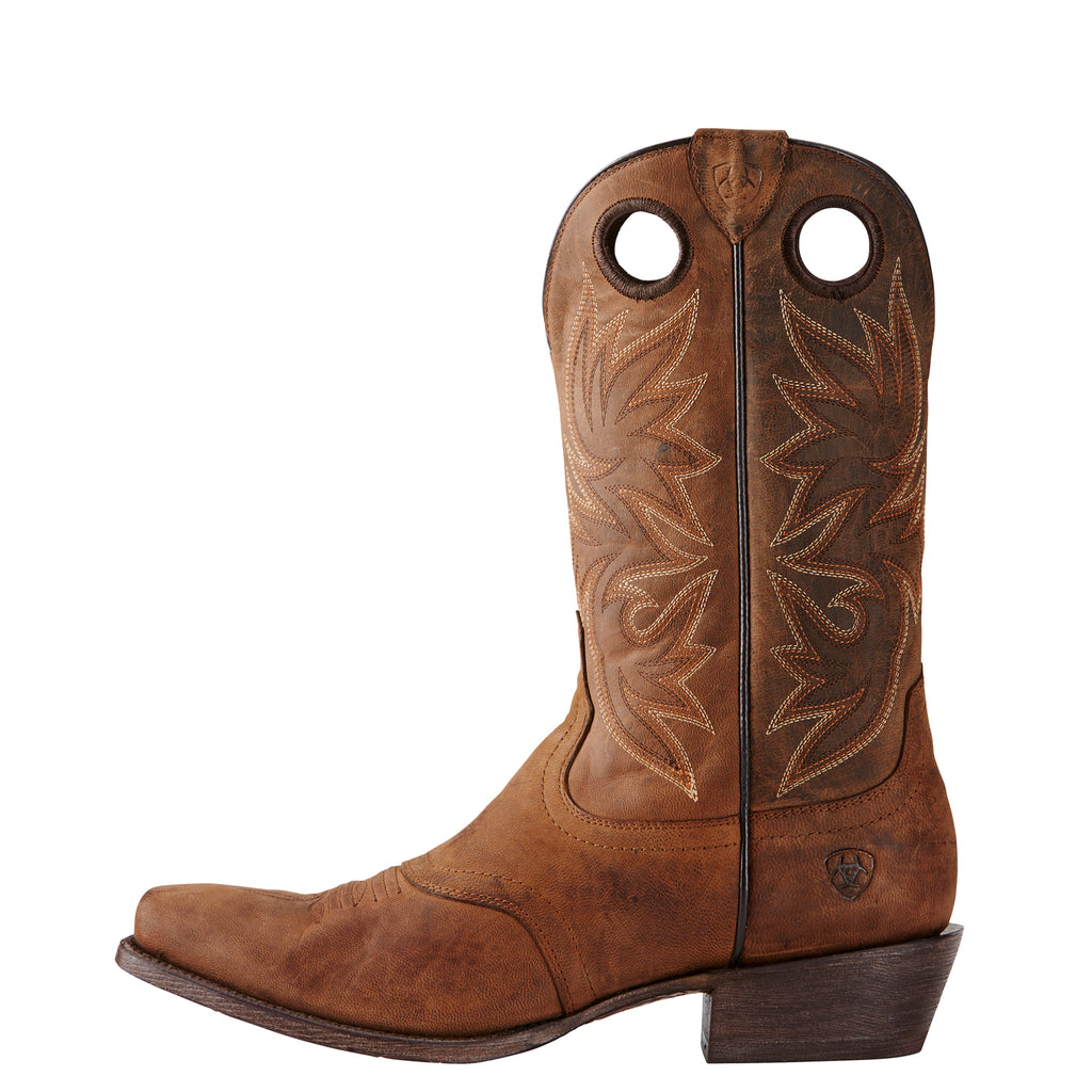Men's Ariat Boots Circuit Striker Weathered Brown #10019974 view 2