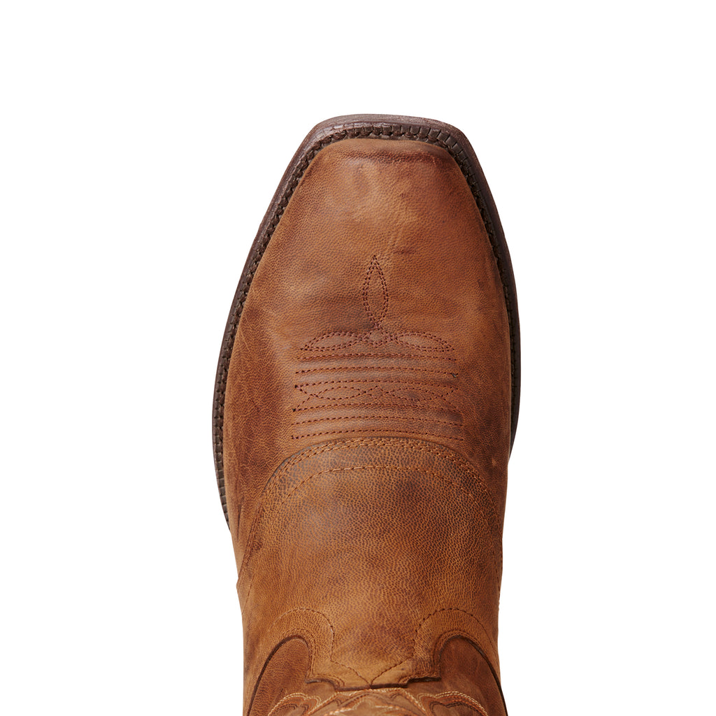 Men's Ariat Boots Circuit Striker Weathered Brown #10019974 view 4