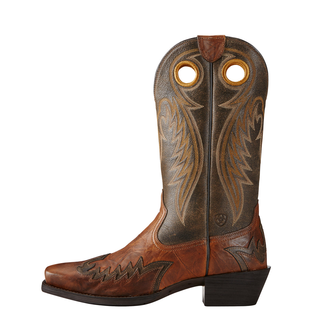 Men's Ariat Boots Rival Barn Brown/Brooklyn Brown #10019988 view 2