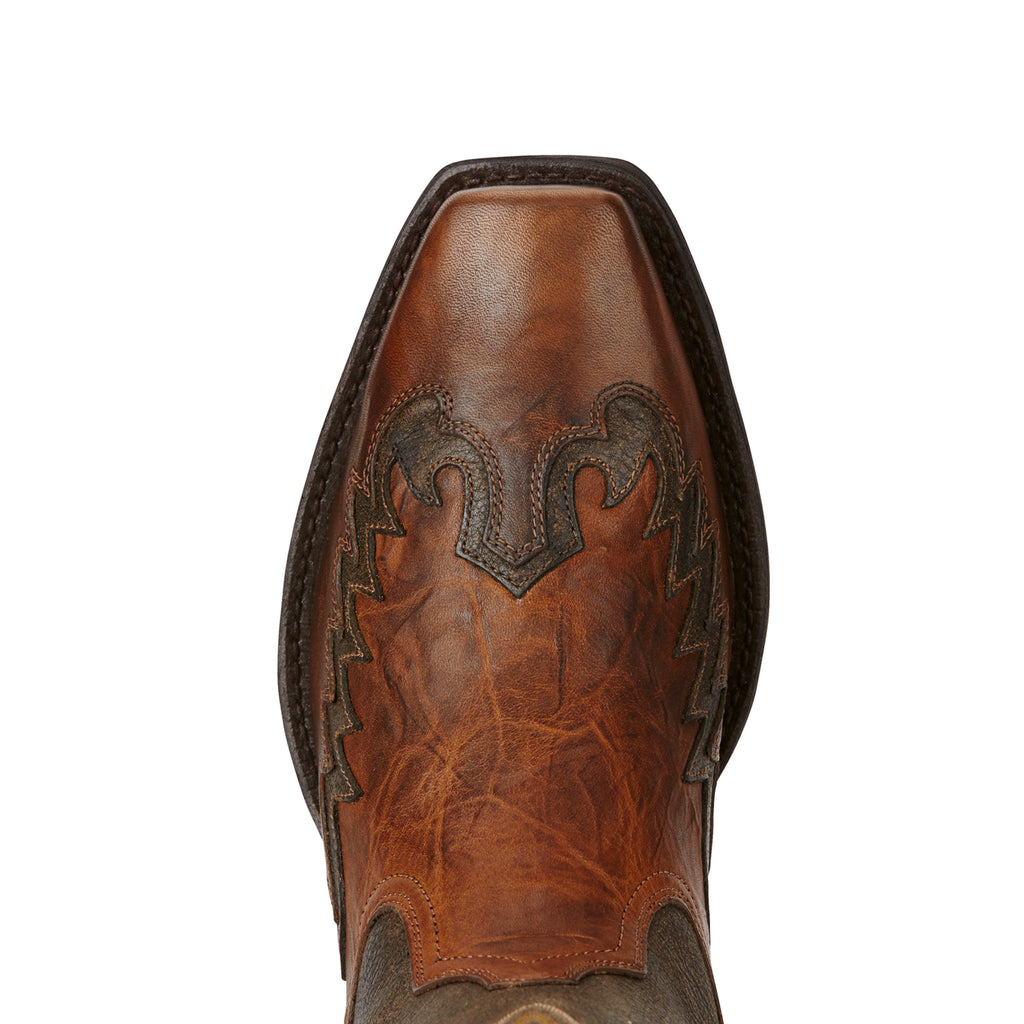 Men's Ariat Boots Rival Barn Brown/Brooklyn Brown #10019988 view 4