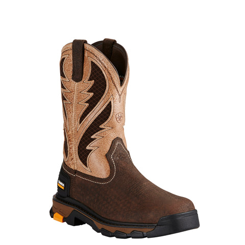 Men's Ariat Boots Intrepid Venttek Bruin Brown #10020070