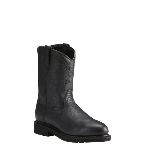 Men's Ariat Sierra Black Boots #10021473